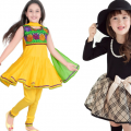 History of dresses for kids